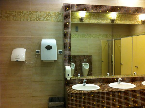 Туалет. ТК Авеню